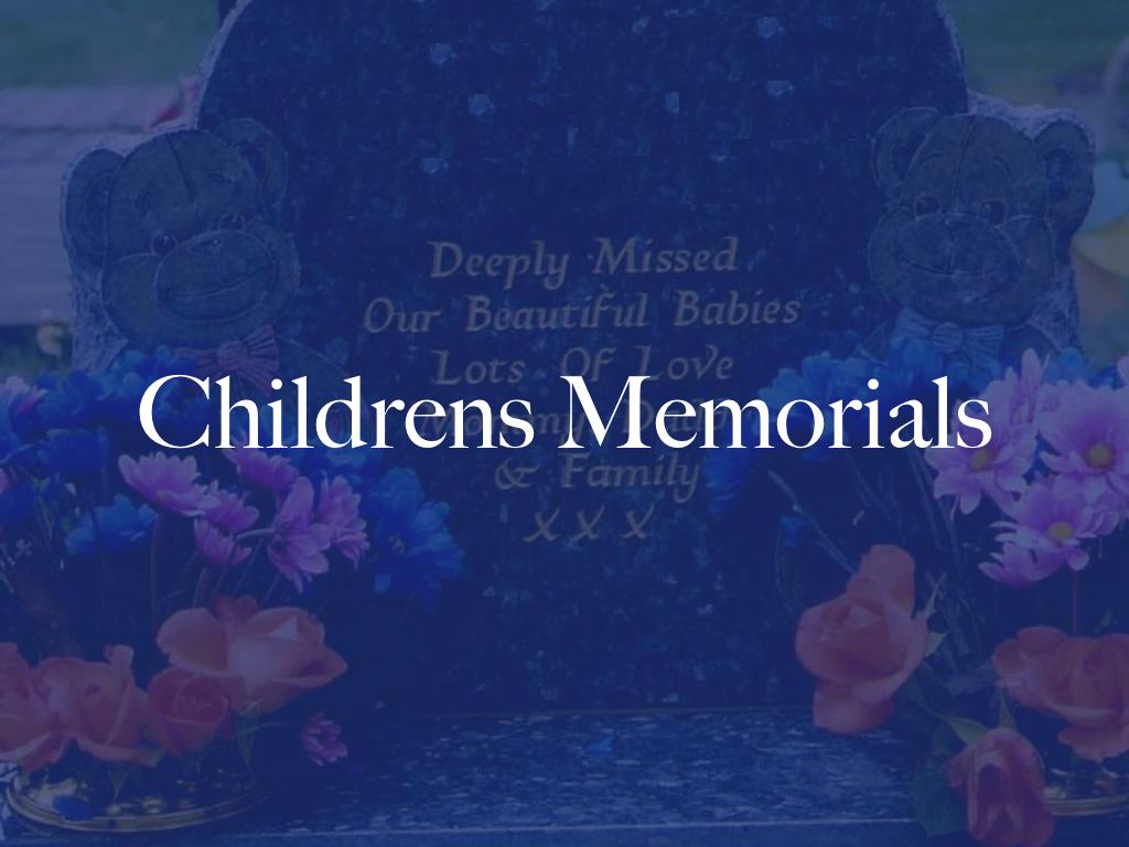 children memorials