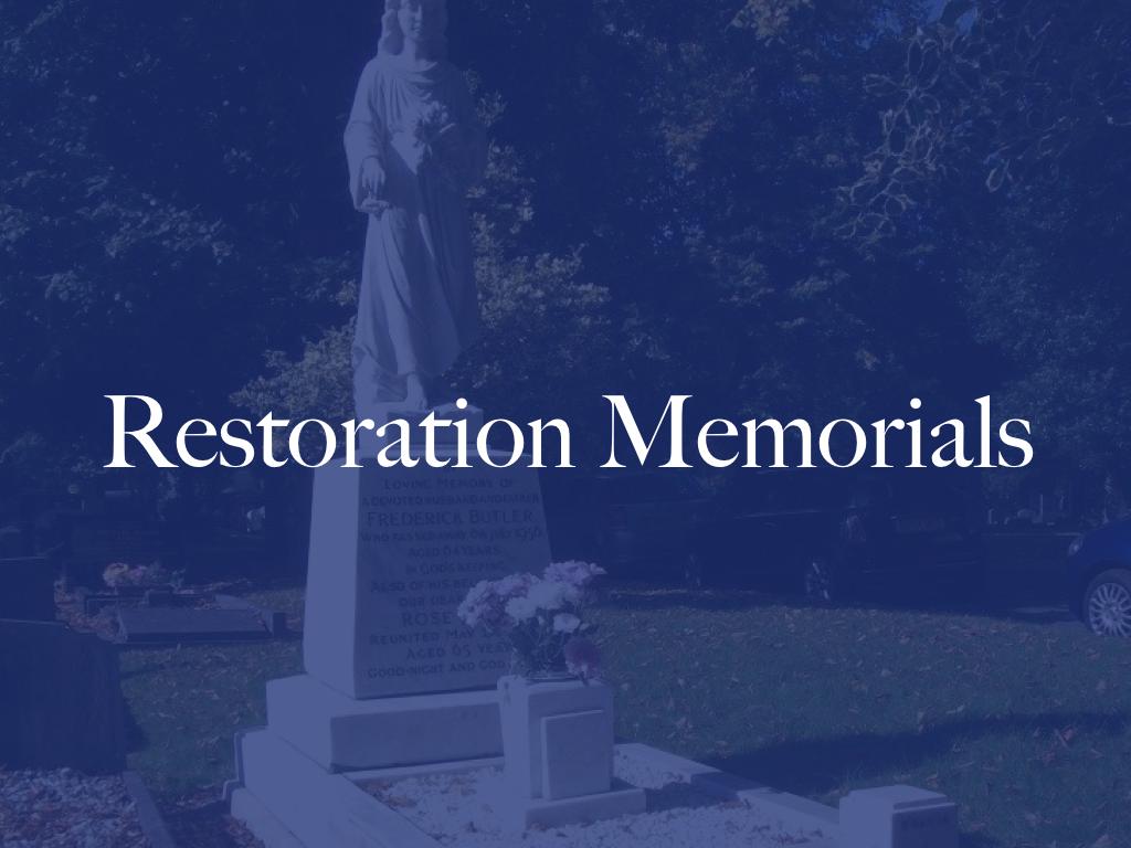 restoration memorials